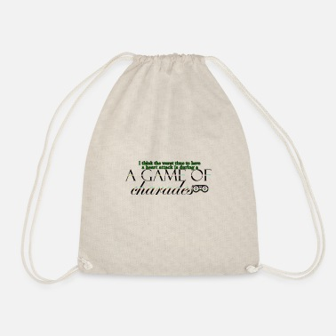 Charade Game of Charades 53 G - Drawstring Bag