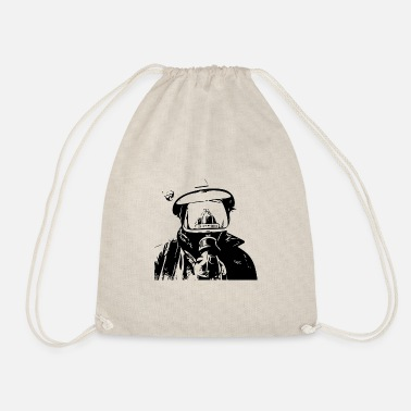 Fighter Fire Fighter - Drawstring Bag