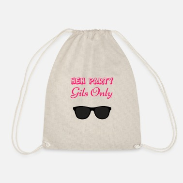 Hen Party Quotes Hen party - Drawstring Bag