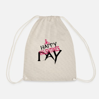 Marry love is not canceled because of covid - Drawstring Bag