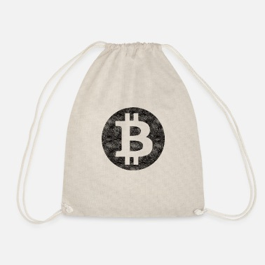 Bitcoin BTC - Drawstring Bag