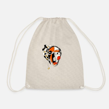 Portrait portrait - Drawstring Bag