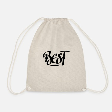 Best best | the best - Drawstring Bag