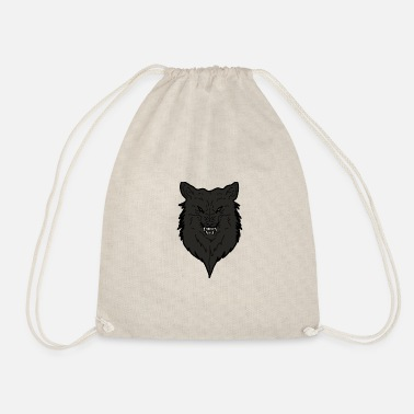 Wolfpack Wolf colored - Drawstring Bag
