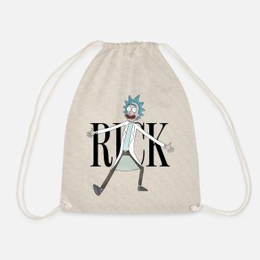 Rick & Morty Rick Sanchez Pose black - Drawstring Bag