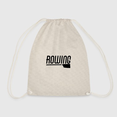 Rowing Rowing oarsman rowing rowing - Drawstring Bag