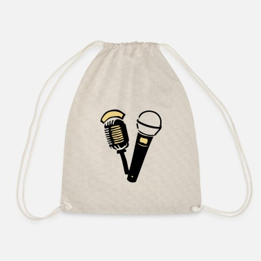 Old old old microphone - Drawstring Bag