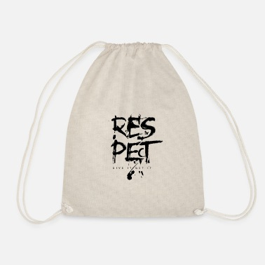 Typo Respect Typo - Drawstring Bag