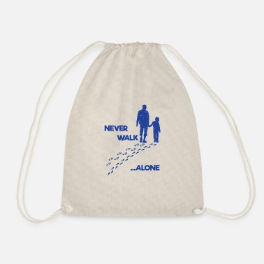 Father father and son - Drawstring Bag