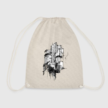 Architecture Architectural - Drawstring Bag