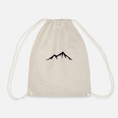 Alps Mountains Mountains, Alps, mountain, hiking - Drawstring Bag