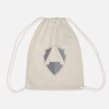 Shield A shield - Drawstring Bag