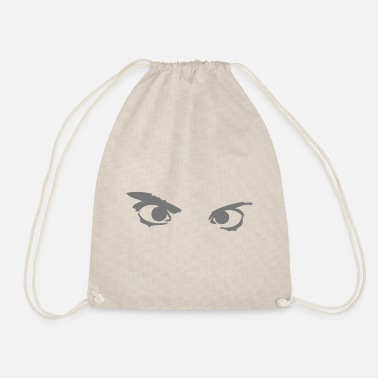 Goggley Eyes eye eyes - Drawstring Bag