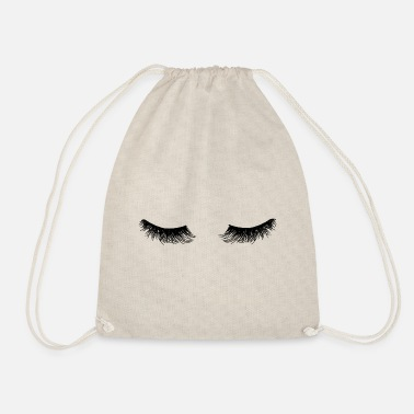 Eyelashes Eyelashes - Drawstring Bag