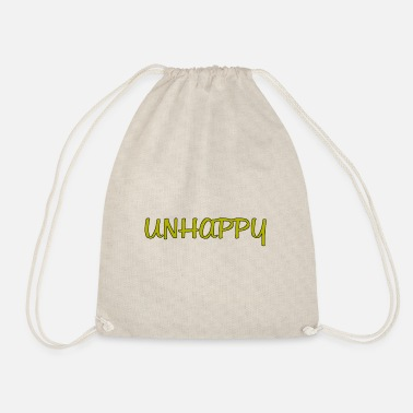 Unhappy Unhappy - Drawstring Bag
