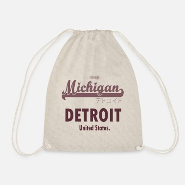 Detroit Detroit - Drawstring Bag