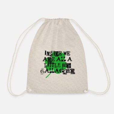 Liam Gallagher Shameles - Drawstring Bag