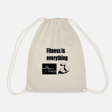 Fitness Fitness is alles - Gymtas