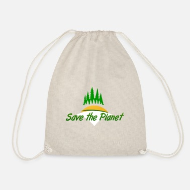 Save The Planet save the planet - Turnbeutel
