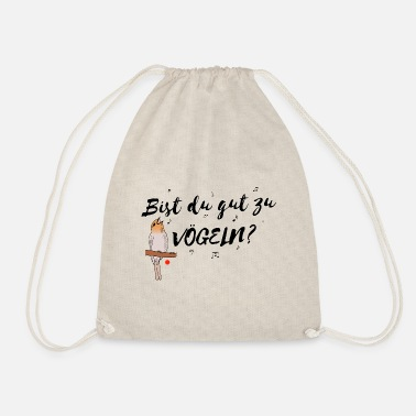 Robin robin - Drawstring Bag
