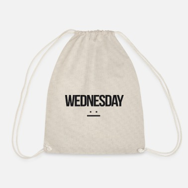 Wednesday Wednesday - Drawstring Bag