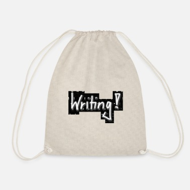 Writing Writing! - Drawstring Bag