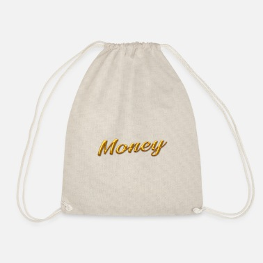 Gold gold money gold - Drawstring Bag