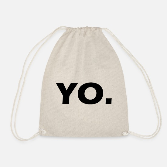 Ja Bags & Backpacks - YO - Drawstring Bag nature