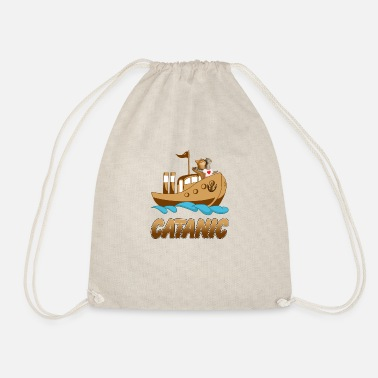 Catan Catanic - Drawstring Bag