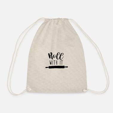 Roll Rolling Pin - Roll With It - Drawstring Bag