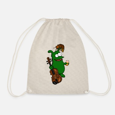 Karla Harald the Kobold and Karla Beetle - Drawstring Bag