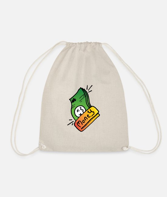 Artist Bags & Backpacks - Money - Drawstring Bag nature