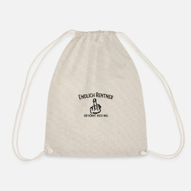 Pensioner pensioner - Drawstring Bag