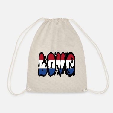 Colour Love Netherlands - graffiti - Drawstring Bag