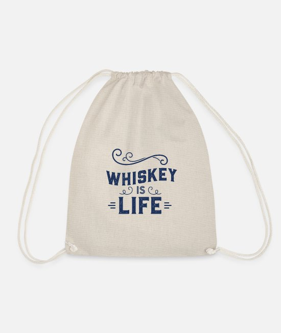 Liqueur Bags & Backpacks - whiskey - Drawstring Bag nature