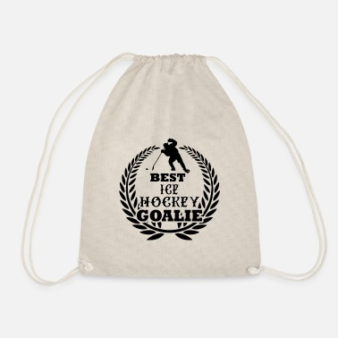 Hockey Goalie Best ice hockey goalie Ice Hockey Goalie - Drawstring Bag