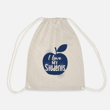 Teaching teaching - Drawstring Bag