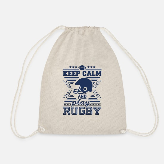 Rugby Bags & Backpacks - rugby - Drawstring Bag nature