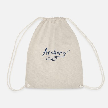 Arrow And Bow bow and arrow - Drawstring Bag