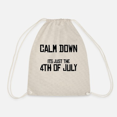 4th Of July 4th of July 4th July 4th July 4th July Holiday - Drawstring Bag