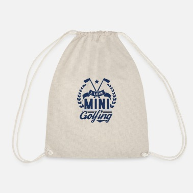 Golfing Golf Golf Golf Golf - Drawstring Bag