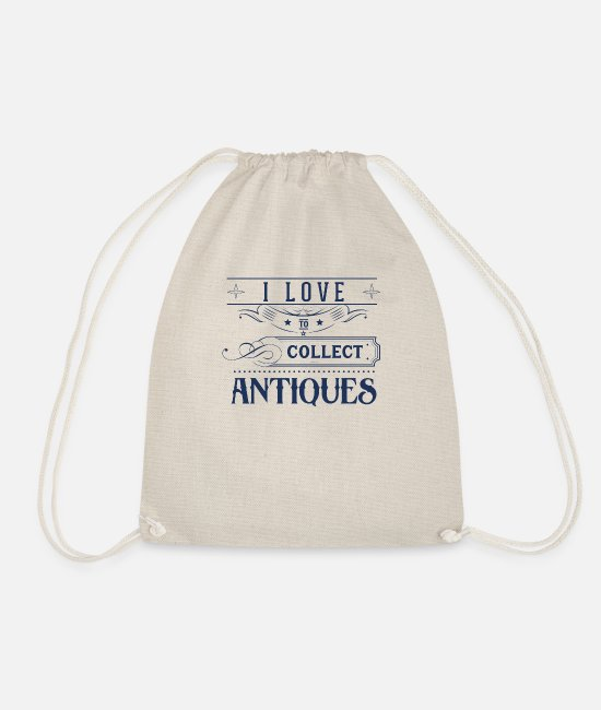 Trade Bags & Backpacks - Antiques antiques antiques - Drawstring Bag nature