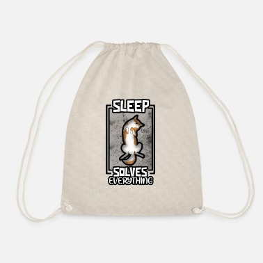 Sleeping Sleep, sleep, sleep - Drawstring Bag