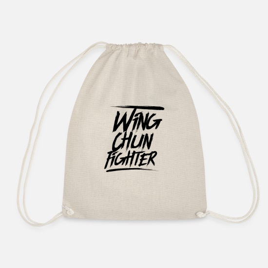 Martial Arts Bags & Backpacks - Wing chun - Drawstring Bag nature