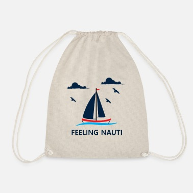 Sailboat Sailing Boating Sailboat Lovers Gift - Drawstring Bag