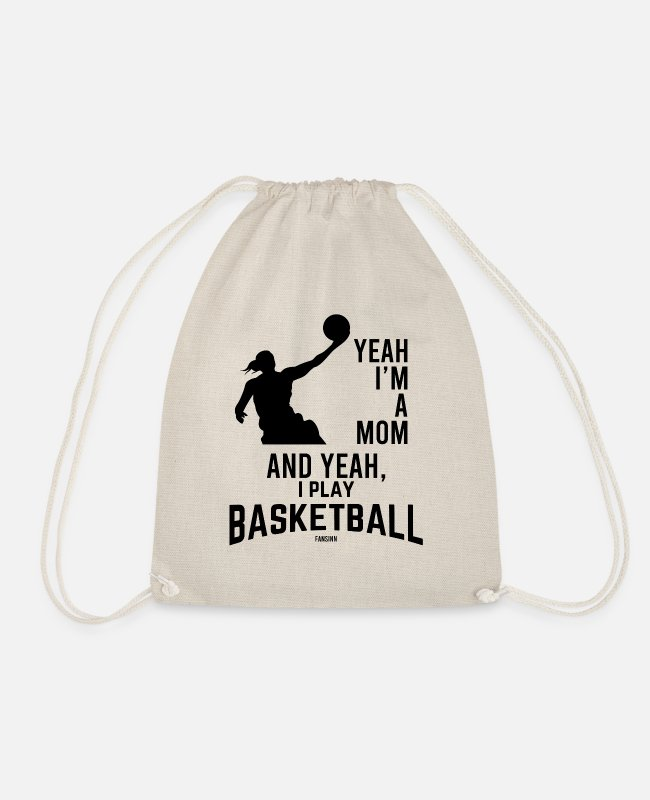 Proud Bags & Backpacks - Basketball basketball basketball team - Drawstring Bag nature