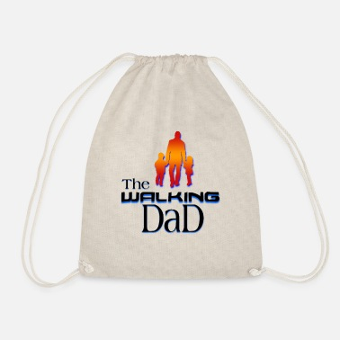For Dad the walking dad - Drawstring Bag