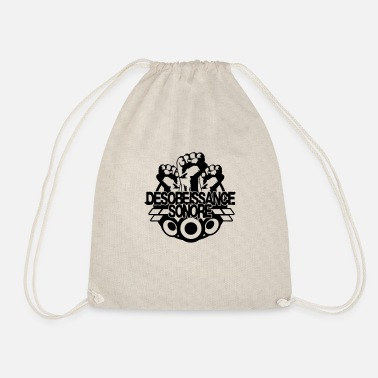 Draconian sound disobedience - Drawstring Bag