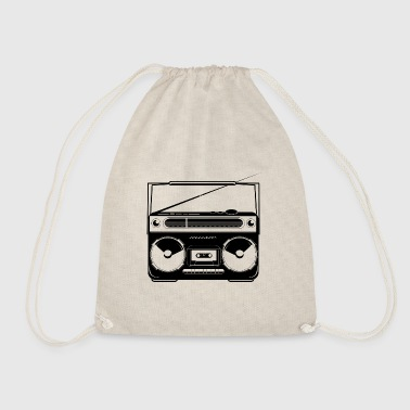 Ghetto Blaster - Drawstring Bag