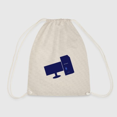 computers - Drawstring Bag